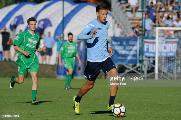 Alessandro Murgia of SS lazio in action during the PreSeason Friendly match between SS Lazio and Reappresentativa Cadore on July 16 2017 in Pieve di...