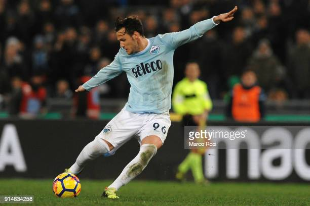 Alessandro Murgia of SS Lazio in action during the Serie A match between SS Lazio and Genoa at Stadio Olimpico on February 5 2018 in Rome Italy