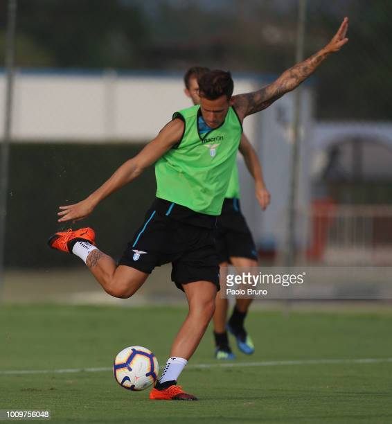 Alessandro Murgia of SS Lazio in action during the SS Lazio training session on August 2 2018 in Rome Italy