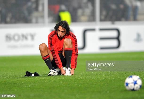Alessandro NESTA Auxerre / Milan AC Champions League Photo Dave Winter / Icon Sport
