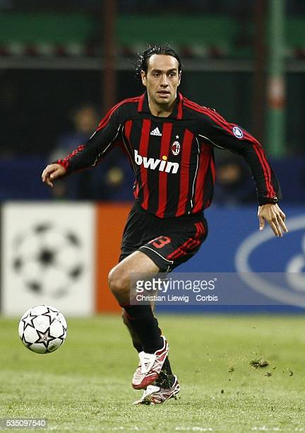 Alessandro Nesta during the 20062007 UEFA Champions League match between Milan AC and Bayern Munich