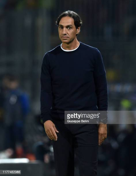 Alessandro Nesta head coach of Frosinone Calcio during the Serie B match between Frosinone Calcio and AS Livorno at Stadio Benito Stirpe on October...