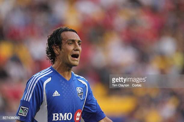 Alessandro Nesta, Montreal, in action during the New York Red Bulls V Montreal Impact, Major League Soccer regular season match at Red Bull Arena,...