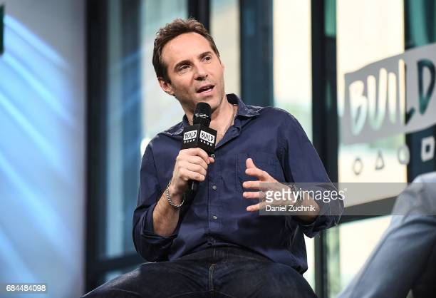 Alessandro Nivola attends the Build Series to discuss the new film 'The Wizard of Lies' at Build Studio on May 18 2017 in New York City