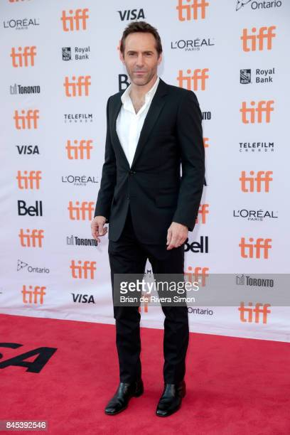 Alessandro Nivola attends the 'Disobedience' premiere during the 2017 Toronto International Film Festival at Princess of Wales Theatre on September...