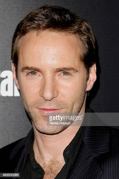 Alessandro Nivola attends the Entertainment Weekly SAG Awards preparty at Chateau Marmont on January 17 2014 in Los Angeles California