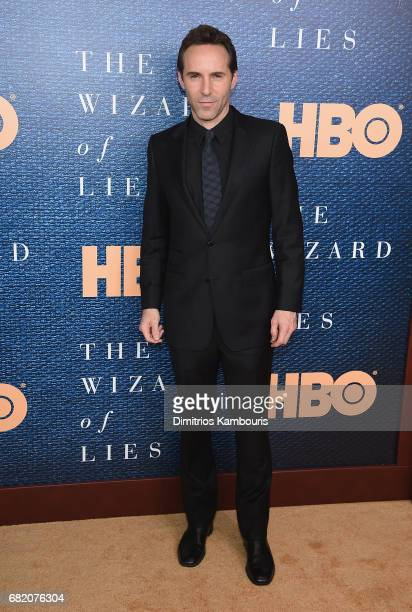 Alessandro Nivola attends the 'The Wizard Of Lies' New York Premiere at The Museum of Modern Art on May 11 2017 in New York City