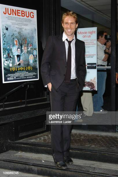 Alessandro Nivola during Junebug New York City Premiere Outside Arrivals at Loews 19th Street in New York City New York United States