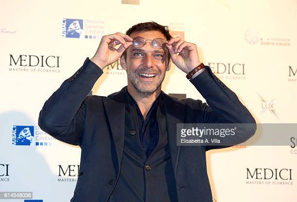 Alessandro Preziosi attends a photocall for 'I Medici' at Palazzo Vecchio on October 14 2016 in Florence Italy