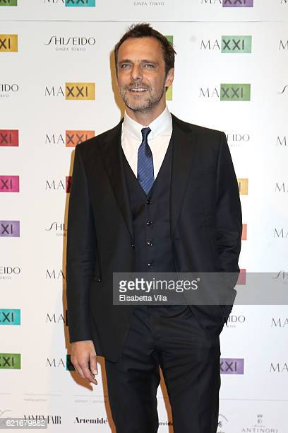 Alessandro Preziosi attends a photocall for the MAXXI Acquisition Gala Dinner 2016 at Maxxi Museum on November 7 2016 in Rome Italy