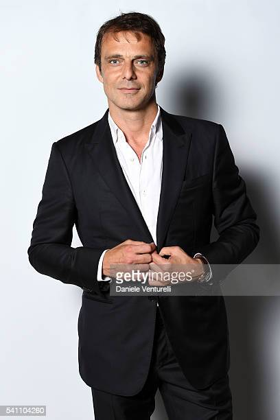 Alessandro Preziosi attends Baume Mercier 62 Taormina Film Fest Gala Dinner on June 18 2016 in Taormina Italy