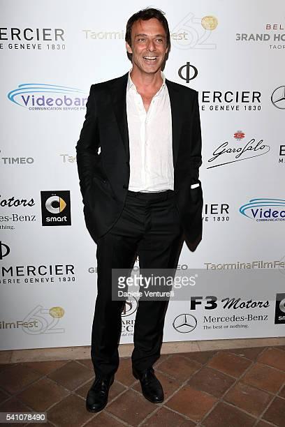 Alessandro Preziosi attends Baume Mercier Closing Night 62 Taormina Film Fest on June 18 2016 in Taormina Italy