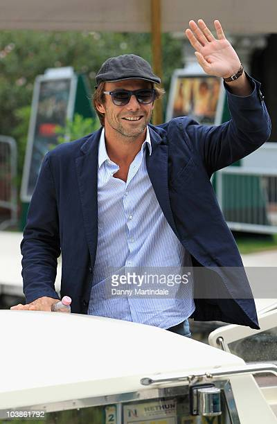 Alessandro Preziosi attends day six of the 67th Venice Film Festival on September 6 2010 in Venice Italy
