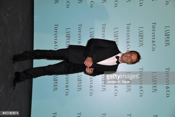 Alessandro Preziosi attends Keep On Shining Party Tiffany and Co For Lampoon Magazine at Conservatorio Di Venezia on September 2 2017 in Venice Italy