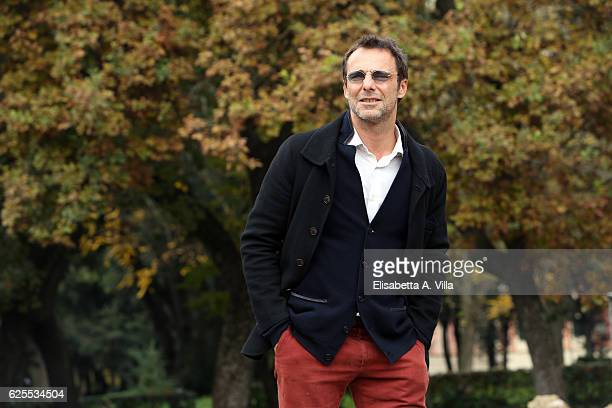Alessandro Preziosi attends 'L'Amore Rubato' Photocall at Villa Borghese on November 24 2016 in Rome Italy