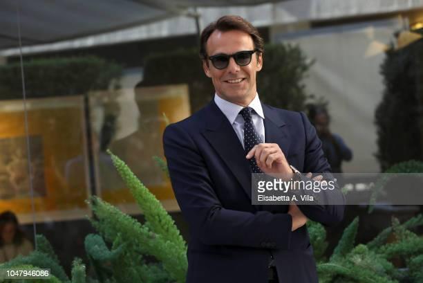 Alessandro Preziosi attends Nessuno Come Noi photocall on October 9 2018 in Rome Italy