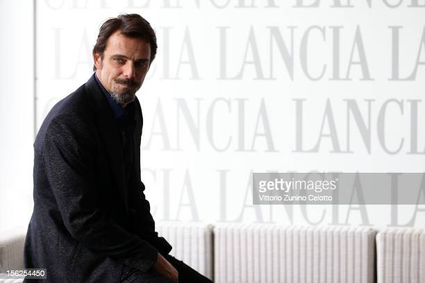 Alessandro Preziosi attends the 7th Rome Film Festival at Lancia Cafe on November 12 2012 in Rome Italy