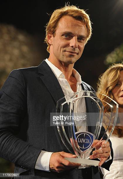 Alessandro Preziosi attends the Nastri d'Argento Ceremony Awards on June 25 2011 in Taormina Italy