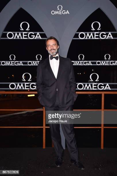Alessandro Preziosi attends the OMEGA Aqua Terra at Palazzo Pisani Moretta on October 28 2017 in Venice Italy