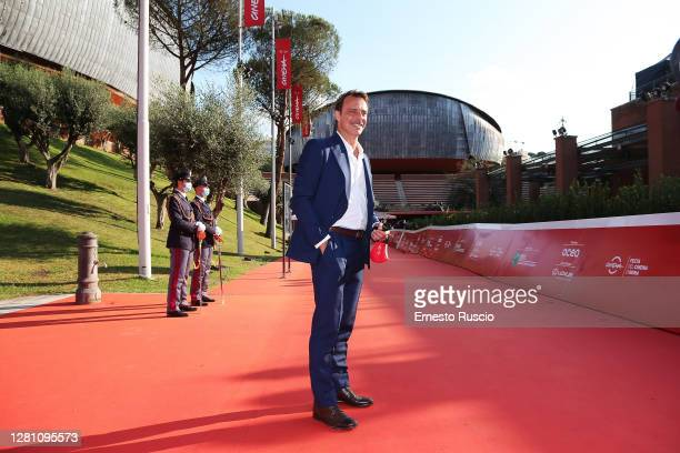 Alessandro Preziosi attends the red carpet of the movie La Legge Del Terremoto during the 15th Rome Film Festival on October 19 2020 in Rome Italy