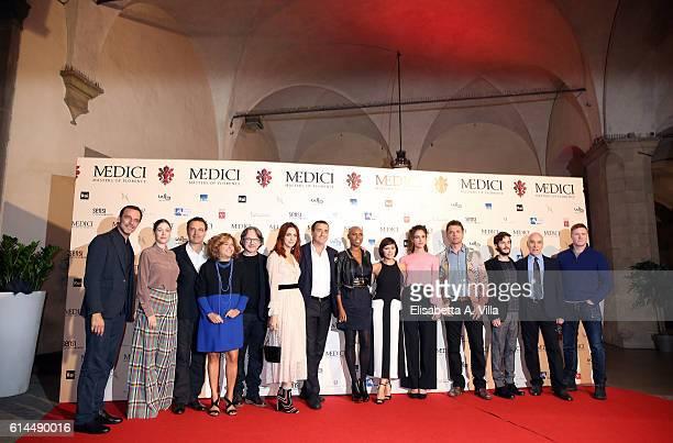 Alessandro Preziosi Sarah Felberbaum director Sergio MimicaGezzan producer Matilde Bernabei Frank Spotnitz Miriam Leone producer Luca Bernabei...