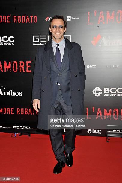 Alessandro Preziosi walks a red carpet for 'L'Amore Rubato' on November 25 2016 in Rome Italy