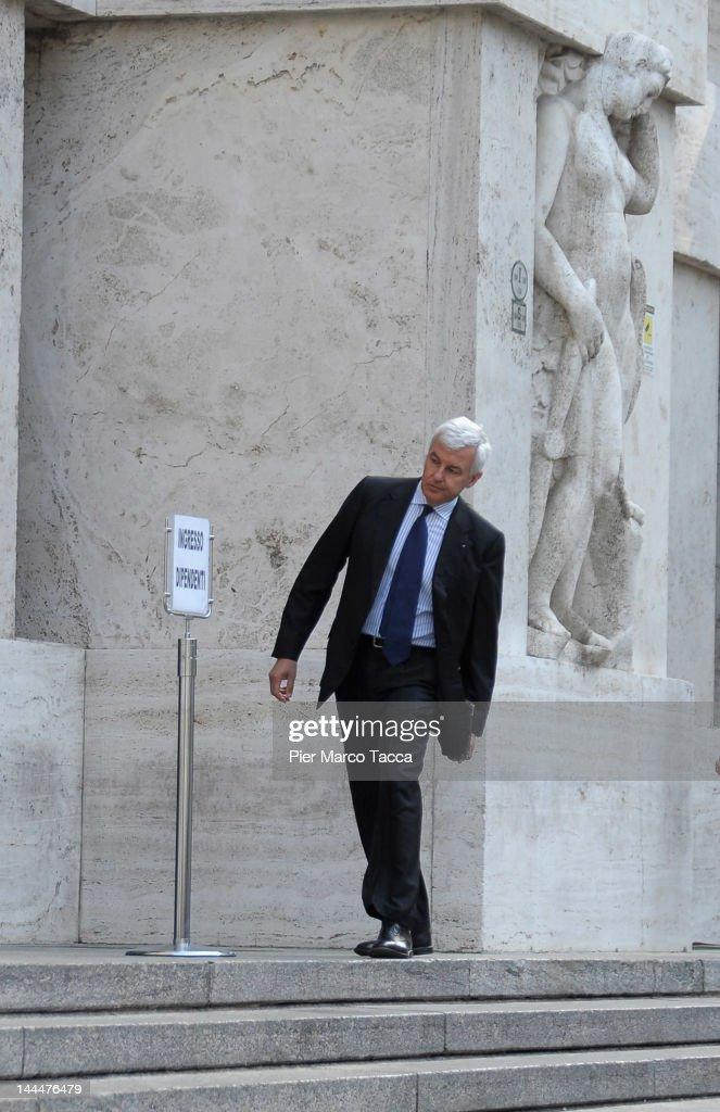 Italian President Giorgio Napolitano In Milan