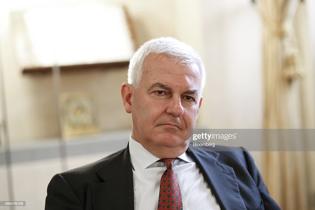 Banca Monte Dei Paschi Di Siena SpA Chairman Alessandro Profumo
