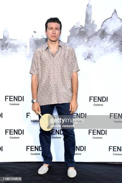 Alessandro Roja attends the Cocktail at Fendi Couture Fall Winter 2019/2020 on July 04, 2019 in Rome, Italy.