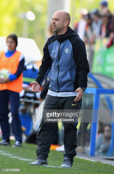 Alessandro Ruocco of FC Internazionale U19 Women during the Serie A Primavera Final Four first place match between FC Internazionale U19 Women and AS...
