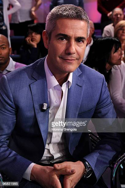 Alessandro Safina during the Italian tv show 'Quelli che il calcio' on May 03 2009 in Milan Italy