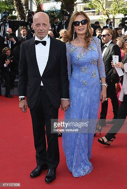 Alessandro Sallusti and Daniela Santanche attend the 'Youth' Premiere during the 68th annual Cannes Film Festival on May 20 2015 in Cannes France