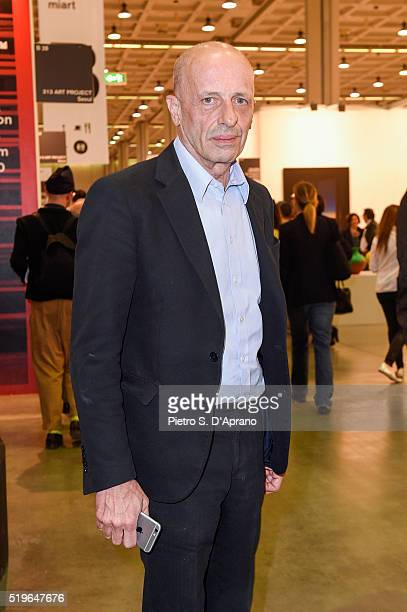 Alessandro Sallusti at Miart Fair 2016 at Fiera Milano City on April 7 2016 in Milan Italy