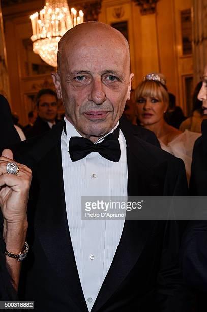 Alessandro Sallusti attends Teatro Alla Scala 2015/16 Season Opening on December 7 2015 in Milan Italy