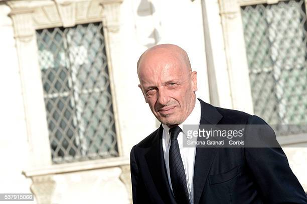Alessandro Sallusti Traditional reception at the Quirinale for the anniversary of the Italian Republic with people from the world of politics culture...