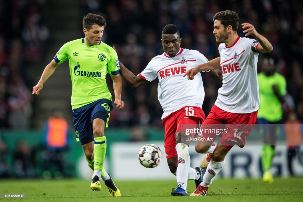 1. FC Koeln v FC Schalke 04 - DFB Cup : News Photo