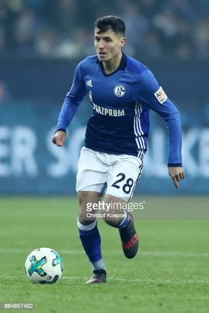 Alessandro Schoepf of Schalke runs with the ball during the Bundesliga match between FC Schalke 04 and 1 FC Koeln at VeltinsArena on December 2 2017...