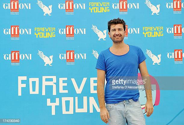 Alessandro Siani attends 2013 Giffoni Film Festival photocall on July 22 2013 in Giffoni Valle Piana Italy