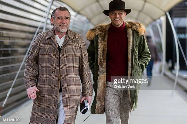 Alessandro Squarzi and Luca Rubinacci on January 10 2017 in Florence Italy