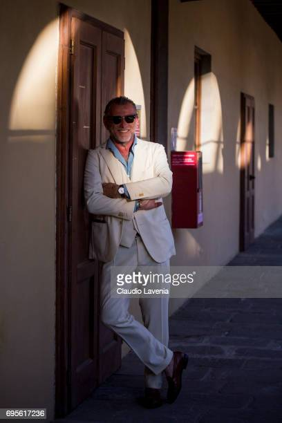 Alessandro Squarzi wears Bagutta during Pitti Immagine Uomo 92 at Fortezza Da Basso on June 13 2017 in Florence Italy