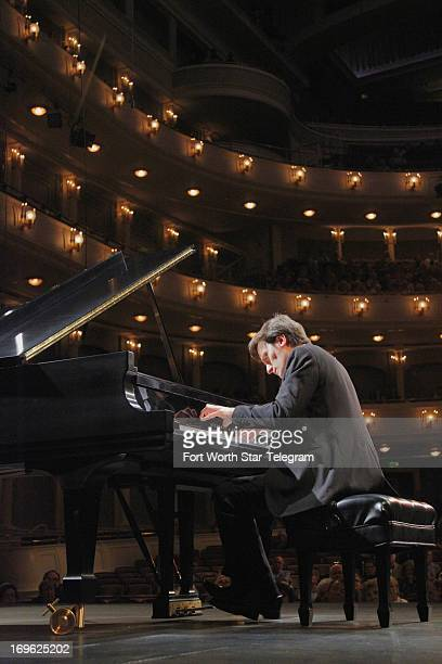 Alessandro Taverna of Italy performs his second recital during the sixth day of the preliminary round of the 14th Van Cliburn International Piano...