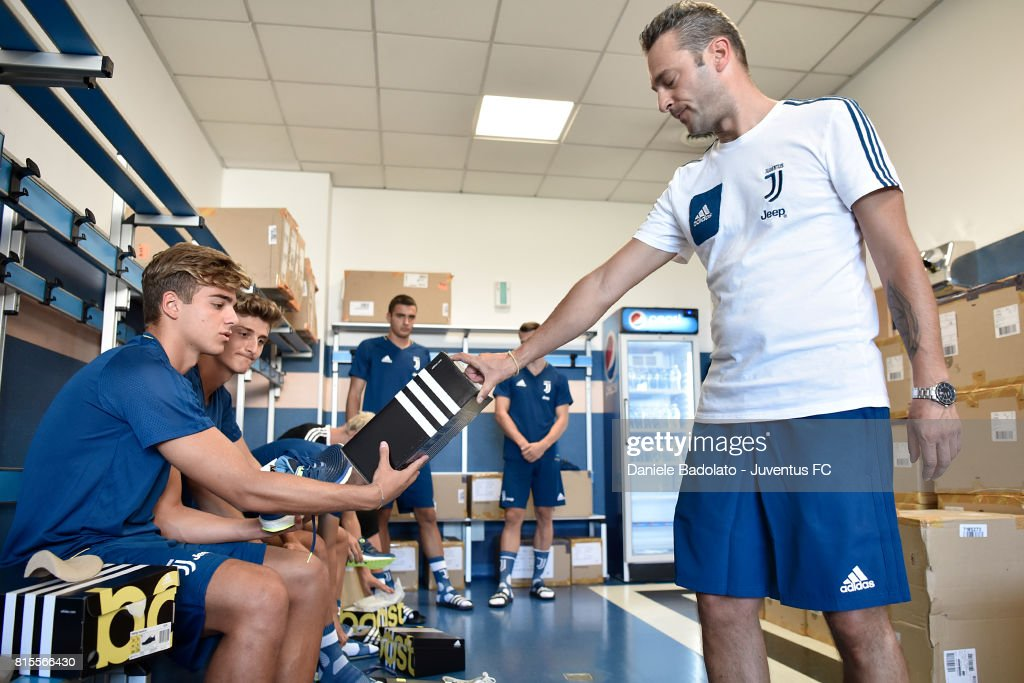 Alessandro Tripaldelli of Juventus Primavera during a training session on July 16, 2017 in Vinovo, Italy.