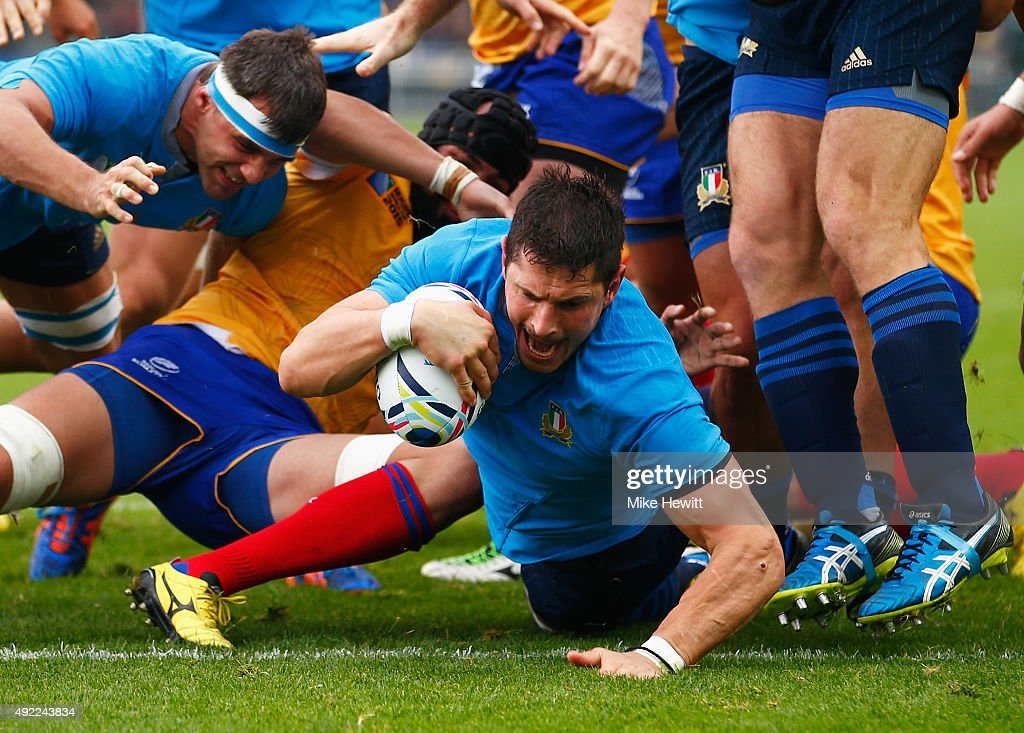 Italy v Romania - Group D: Rugby World Cup 2015 : News Photo