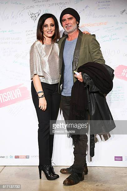 Alessia Barela and Riccardo Ghilardi attend 'Un Bacio' Premiere at Auditorium Parco Della Musica on March 23 2016 in Rome Italy