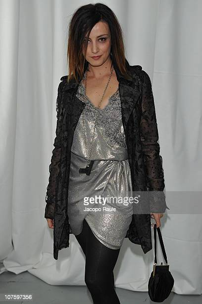 Alessia Barela attends Dior Homme Party on December 14 2010 in Milan Italy