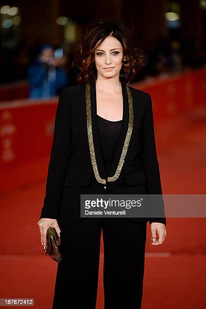 Alessia Barela attends 'Il Venditore Di Medicine' Premiere during The 8th Rome Film Festival on November 11 2013 in Rome Italy
