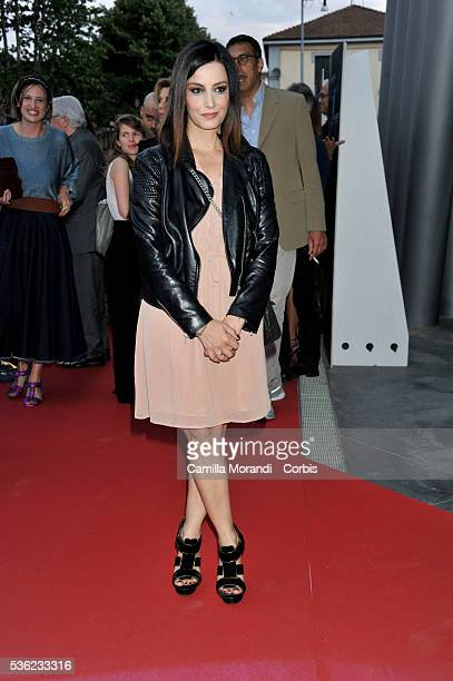 Alessia Barela attends Nastri D'Argento 2016 Award Nominations on May 31 2016 in Rome Italy