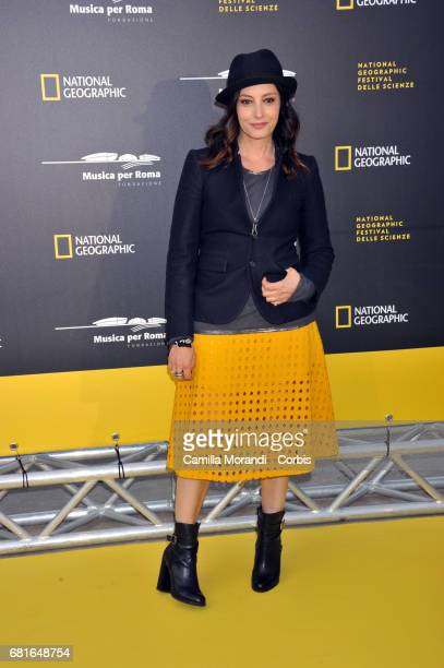 Alessia Barela attends National Geographic's 'Genius Einstein' photocall on May 10 2017 in Rome Italy