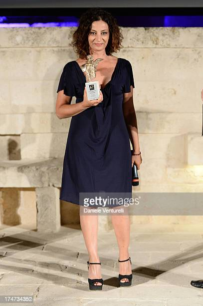 Alessia Barela attends the 11th Salento Finibus Terrae Festival Internazionale di Cortometraggi at Borgo Egnazia on July 28 2013 in Brindisi Italy