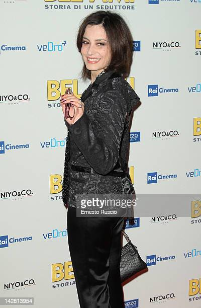 Alessia Barela attends the Bel Ami screening at Space Moderno on April 12 2012 in Rome Italy